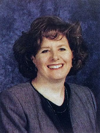 Head-and-shoulders portrait of Principal Dammeyer taken during the 2002 to 2003 school year.